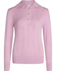 Sisters Point Haza-ls Icing Blouse - Roze