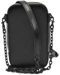 Marc Jacobs The Hot Shot Bag Leather Negro