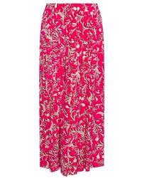 Étoile Isabel Marant Patterned Trousers - Roze