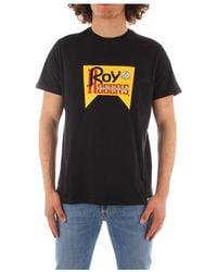 Roy Rogers P21rrx519c9300569 short sleeve tee - Noir