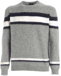 Zanone Sweaters - Grijs