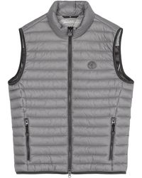 Marc O'polo Quilted Gilet - Grijs