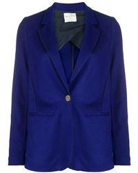 Forte Forte Button-down fitted blazer - Blu