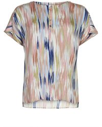 iN FRONT Missy Blouse Short Sleeve 14303 - Naturel