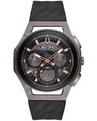 Bulova Progressiv curv watch - Schwarz