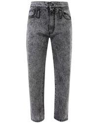 MSGM Branded Jeans - Zwart