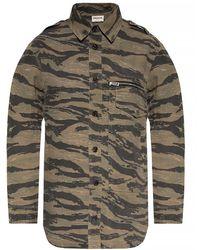 Zadig & Voltaire Camo-motif Shirt - Groen