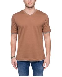 Eleventy T-shirts And Polos - Naturel