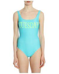Alberta Ferretti One piece swimsuit - Bleu