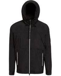 Moose Knuckles Stereos anorak sweatshirt - Negro