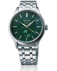 Seiko Presage watch - Verde