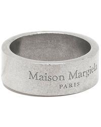 Maison Margiela Ring Sm1uq0055 - Grijs