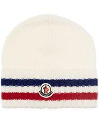 Moncler Wool hat - Bianco
