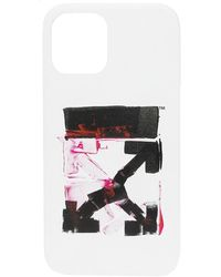 Off-White c/o Virgil Abloh Iphone 12 Case - Wit
