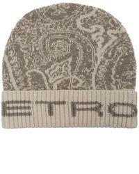 Etro Wool hat - Neutro