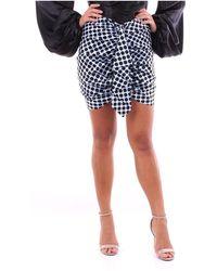 Alexandre Vauthier 201sk1106 Miniskirts - Blauw