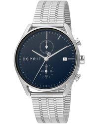 Esprit Watch Ur - Es1g098m0065 - Grijs