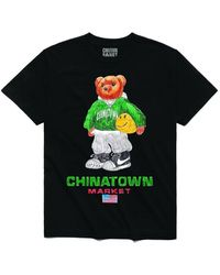 Chinatown Market - T-Shirt Sketch Basketball Bear - Lyst