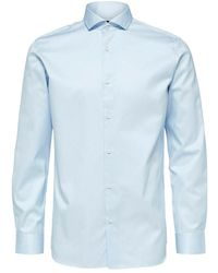 SELECTED Hemd - Blauw