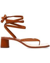 Miista Leslie Heeled Flip-flops - Bruin