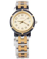Hermès Clipper Watch - Metallizzato