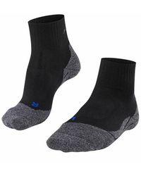 FALKE Tk2 Short Cool Socks - Zwart