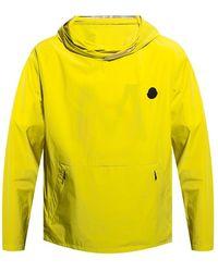 Moncler Escalle hooded jacket - Giallo