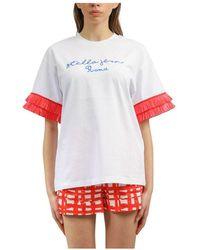 Stella Jean T-shirt - Blanc