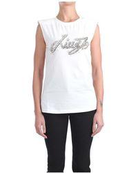Liu Jo Ia1114 J9135 Short Sleeve T-shirt - Wit