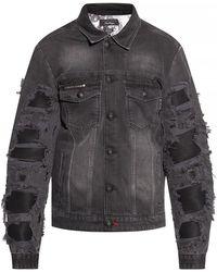 Philipp Plein Jacket With Logo - Grijs