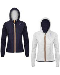 K-Way Reversible Jacket - Blanc