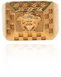 Versace Medusa Ring - Geel