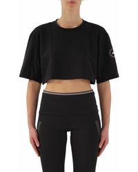 adidas By Stella McCartney Gl7340 T-shirt Maniche Corte - Zwart