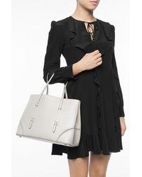 Alaïa Studded hand bag Gris