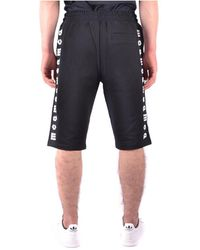 Alexander McQueen - Shorts Negro - Lyst
