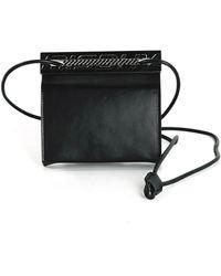 MISBHV Card Holder Leather - Schwarz