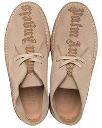 Palm Angels Desert Boots Logo - Neutre