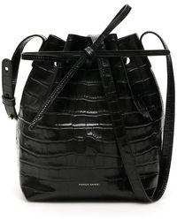 Mansur Gavriel Mini Bucket Bag - Zwart