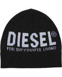 DIESEL 00j52b 0nabq fbecky chapeau - Noir