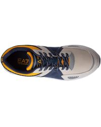 EA7 Trainers sneakers Gris - Azul