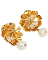 Medecine Douce Vérone Medium Earrings With Cultured Pearl