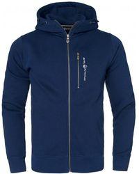 Sail Racing Bowman Zip Hood - Blauw