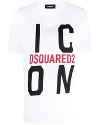 DSquared² Icon T-shirt - Wit
