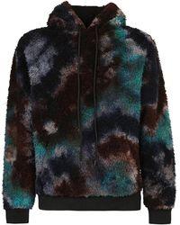 Mauna Kea Printed hoodie - Noir