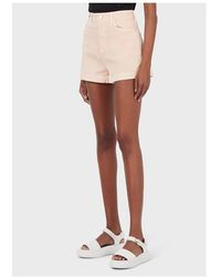 Emporio Armani Shorts Rosa