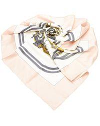 Hermès Brides de Gala Silk Scarf - Bianco