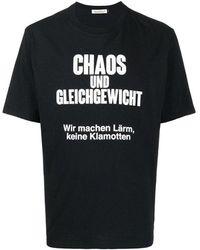 Undercover Tshirt - Zwart