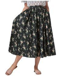 Vivetta Fantasy Wheel Skirt - Vert