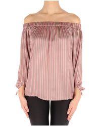 Sun 68 S19216 blouse - Neutre