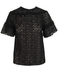 P.A.R.O.S.H. Shirt - Zwart